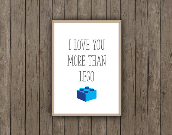 I Love You More Than Lego